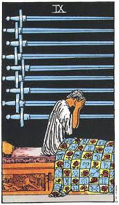 Nine of Swords – Anxiety and Doubt